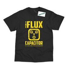 BACK TO THE FUTURE INSPIRED FLUX CAPACITOR DELOREAN MOVIE T-SHIRT