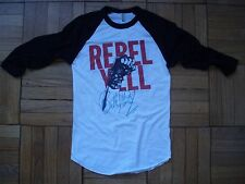 vintage style Billy Idol Rebel Yell t-shirt jersey raglan aa brand new XS-XL