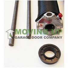 """Right Wind 225 X 2"""" X All Lengths Garage Door Torsion Spring w/ Winding Bars"""