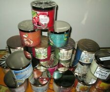 BATH & BODY WORKS LARGE 3 WICK CANDLES * 14.5 oz.Jar * Choose Your Fave!!