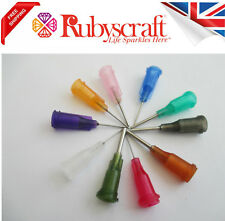 15pc Dispensing Blunt Precision Tip Nozzle for Glue,oil,Paints,ecig,1/2inch Tip