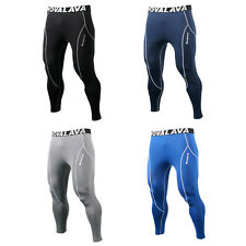 Mens Womens Compression Base Layer Tights Leggings Skin Shorts Pants Sport Wear