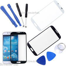 New Front Screen Glass Lens Outer Replacement for Samsung Galaxy S4 i9500 + Tool
