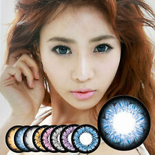 Farbige Kontaktlinsen colored contact lens / Fun Crazy Cosplay Halloween - 1Pair
