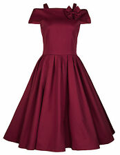 NEW LINDY BOP VINTAGE 1950s ROCKABILLY STYLE SWING PARTY JIVE PROM DRESS FIFTIES