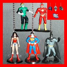 DC COMICS JUSTICE LEAGUE CEILING FAN PULLS–CHOOSE 2 FIGURES–SUPERMAN, FLASH, ETC