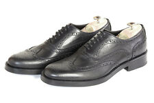 Scarpe Classiche Uomo Eleganti Nero Men's Dress Shoes Oxford Handmade Black