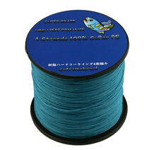 Extremebraid BLUE PE DYNEEMA MAXX POWER 100m-1000m 6-100LB Braided Fishing Line