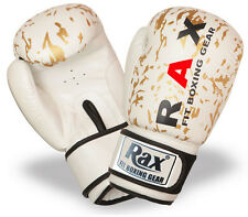 Boxing Gloves Ideal Punch bag MMA Sparring Training kick boxing 4oz-16oz R A X