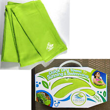 Super Absorbent Quick Dry Soft Compact Lounge Lizard Towel Beach Pool Travel Spa