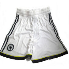 Chelsea FC Adidas Adult White Player Issue 3rd Football Shorts 2010-12 Size M-XL