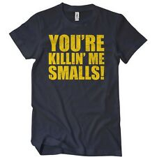 New YOU'RE KILLIN ME SMALLS T-SHIRT Funny Sandlot Movie Tee BASEBALL 80s KILLING
