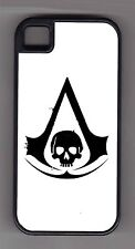 L@@K! Assassin's Creed LOGO Black Flag - cell phone or ipod case or wallet!