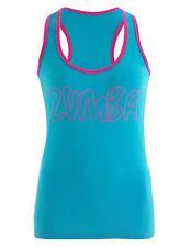 Zumba®  Life of the Party Racerback ~ All Sizes ~  Zumbawear™ Blue