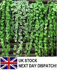 7.87-9.19ft Artificial Ivy Vine Leaf Garland Plants Fake Foliage Flowers Deco
