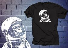 Astronaut Chimp T shirt Shirt Funny Shirt Monkey Space T shirt Planet NASA tee