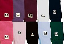 "Dance & Fashion All Cotton Leg Warmers 19"" 8 Colors NEW"