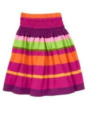 GYMBOREE WILD FOR ZEBRA MULTI COLOR STRIPE LONG SKIRT 4 5 6 7 8 9 10 12 NWT