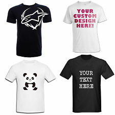 CUSTOM PERSONALISED T-SHIRT TEXT IMAGE PRINTED GIFT STAG HEN MENS WOMENS FREE