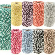 Bakers Twine Rolls, 250 Or 30 Metres, Ideal For Wedding, Gift Wrap, Decorations