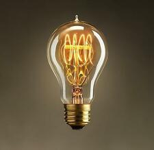 Vintage edison filament light bulb Steampunk Style Light Bulb designer antique