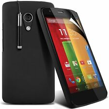 Case Cover for Motorola Moto G 4.5in, Hard back with Stylus Pen+FREE Screenguard