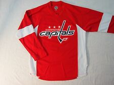 S M L Reebok Washington Capitals Alex Ovechkin NHL Jersey NWOT #8 Red