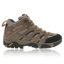 Merrell Moab Mid Mens Brown Gore-Tex Waterproof Walking Hiking Boots Shoes
