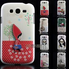 1x Cute Hard Back Case Cover Skin for Samsung Galaxy Grand Duos i9082 i9080