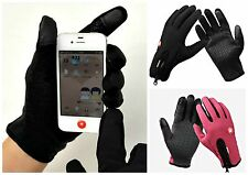 WINDPROOF Magic Touchscreen / Texting Winter Gloves for iPhone & SmartPhone