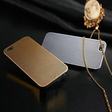 WORLD'S THINNEST 0.2mm ALUMINIUM MESH METAL CASE COVER FOR iPHONE 5 5S 4 4S