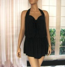 $180 NWT Black MagicSuit MiracleBra Firm Control Romper OnePiece Bathing Suit