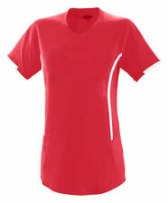Augusta Sportswear Women's Short Sleeve V Neck Heat Jersey Sports T-Shirt. 1270