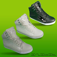Pastry New Ladies Girls Street Dance Pop Tart Sweet Crime Hi Top Trainers Boots