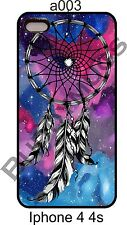 Fox Fur Nebula Galaxy Space Dreamcatcher Case cover For  iPhone 4 4s 5 5s A003