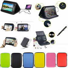 """Colorful Speaker PU Case+Stylus For 7"""" Samsung Galaxy Tab 3 Lite 7.0 T110 T111"""