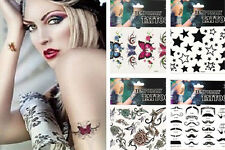 HS88  Gothic Sexy Temporary Tattoo Stickers Party Fancy Body Art Makeup one