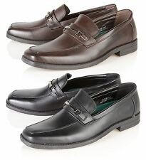 Malvern Mens  Smart Wedding  Formal Italian Dress Shoes Size