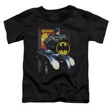 Batman Batmobile DC Comics Superhero Little Boys T-Shirt Tee