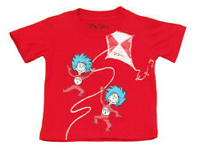 Thing 1 and Thing 2 Dr. Seuss Cat In The Hat Book Cartoon Toddler Baby T-Shirt