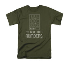 I'm Good With Numbers Calculator 8008135 Boobies Funny T-Shirt Tee