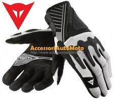 GUANTI MOTO GUANTO DAINESE HUGE AIR Bianco/Nero/Argento MOTORCYCLE GLOVES
