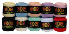 2 x Whoosh Crochet Cotton Embroidery Thread Balls 400yds, Choose Your Own Colour
