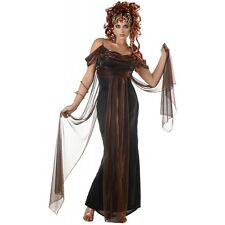 Mythical Siren Adult Womens Greek Goddess Medusa Halloween Costume Std/Plus Size