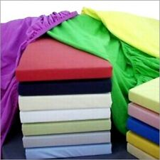 "800TC Super Soft Pocket 21"" Large Deep Sheet Set 100% Cotton---USA Home 7 Sizes"