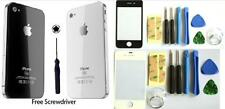 NEW Glass Replacement Back &Front screen for iPhone 4 4S Rear Battery Cover Case