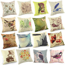 """16 Patterns Vintage Home Decor Cushion Cover Throw Pillow Case 18"""" Sofa Chic"""
