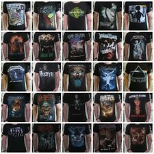 Unisex Retro Rock T-Shirt - Womens Men Vest Tank-Top Singlet Size S M L XL XXL