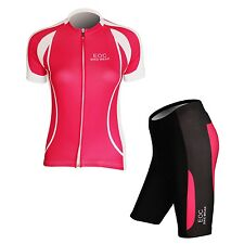 New Women's Cycling Bicycle Bike Comfortable Outdoor Jersey + Shorts Size S- XXL