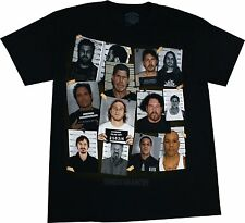 Sons Of Anarchy Group Mugshot Reaper Officially Licensed Adult T-Shirt